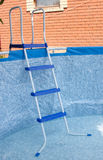 A large framework blue pool Stock Photo