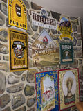 Large Fresco in Bar in Durango USA Royalty Free Stock Photography