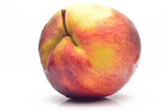 A large fresh apple Royalty Free Stock Image