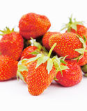 Large fresh strawberries Royalty Free Stock Photo