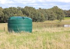 Large fresh water tank Stock Photography