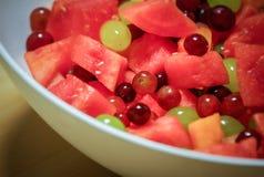 Large fruit bowl Royalty Free Stock Photos