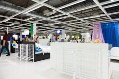 Large furniture mall Stock Photography