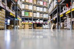 Large furniture warehouse Stock Image