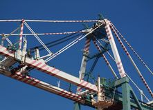 Large Gantry Container Crane Royalty Free Stock Photography