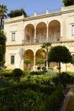 Large garden in Casa Pilatoss Stock Images