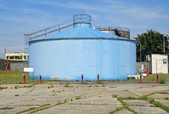 Large gas container Stock Photos