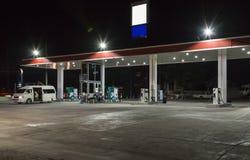 Large gas station Stock Photo
