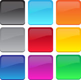 Large gel/glass buttons Royalty Free Stock Photo