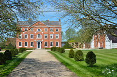 Large Georgian Mansion with Drive Royalty Free Stock Images