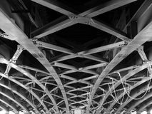 Large Girder Bridge Royalty Free Stock Images