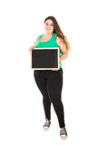 Large girl Stock Photography