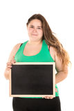 Large girl Royalty Free Stock Photography