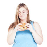 Large girl Stock Images