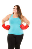 Large girl power Royalty Free Stock Photography