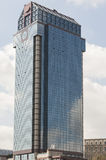Large glass office tower building Stock Photography