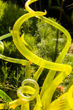 Large glass sculpture Stock Photo