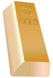 Gold bullion Stock Photography