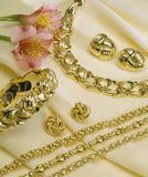 Large Gold Jewelry Stock Photos