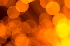 Large Gold Lights Abstract Background Stock Image