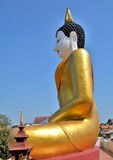 The large golden Buddha Royalty Free Stock Photo