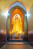 Large Golden Buddha. Stock Photography