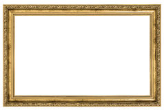 Large golden frame Stock Images