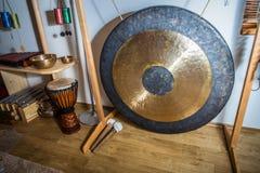 Large gong Stock Image