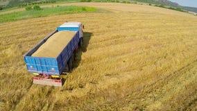 Large grain truck Stock Photo