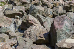 Large granite stones royalty free stock photo