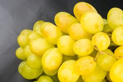 Large grapes cluster Royalty Free Stock Photos