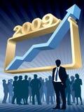Large graph Stock Photos