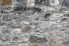 Large Gray Stone Wall Royalty Free Stock Image