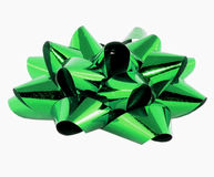 Large green bow Royalty Free Stock Photo