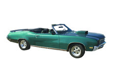 Large green convertible Royalty Free Stock Photos