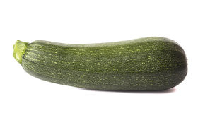 Large green zucchini Stock Photography
