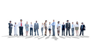 Large group of Business people Stock Photography