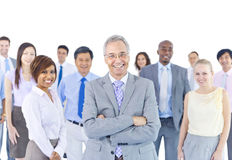 Large Group of Business People Royalty Free Stock Photo