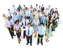Large Group of Business People Royalty Free Stock Photography