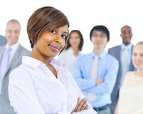 Large Group of Business People Stock Photos