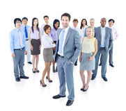 Large Group of Business People Royalty Free Stock Image