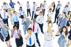 Large Group of Business People Communication Royalty Free Stock Image