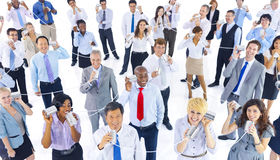 Large Group Business People Communication Concept Royalty Free Stock Photography