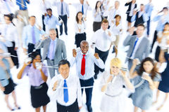 Large Group Business People Communication Concept Stock Photo