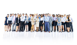 Large Group Business People Communication Concept Stock Images