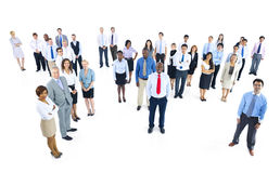 Large Group of Business People Concept Stock Photography
