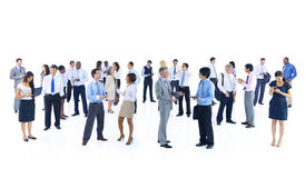 Large Group Business People Discussion Concept Royalty Free Stock Images