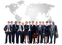 Large group of business people. Stock Image