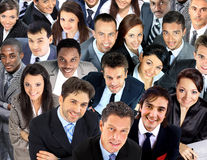 Large group of business people Royalty Free Stock Photos