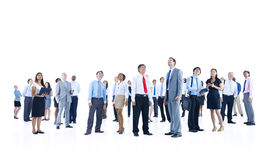 Large Group Business People Talking Discussion Concept Stock Photos